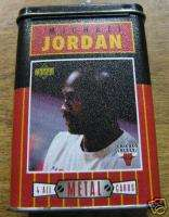 UPPER DECK MICHAEL JORDAN ALL METAL COLLECTOR CARDS 4