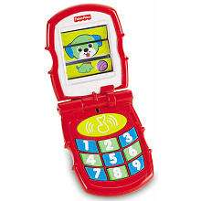 Fisher Price Brilliant Basics Friendly Flip Interactive Toy Phone