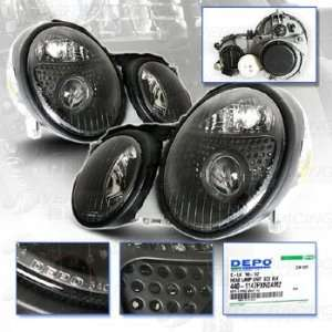 CLK CLASS Projector Headlights   DEPO   SAE DOT Approved Automotive