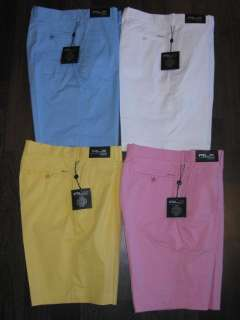 Mens Polo Ralph Lauren RLX Golf Shorts Size 32,34,36,38 4 Colors to