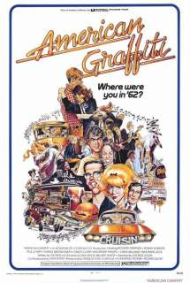 American Graffiti 27 x 40 Movie Poster,Dreyfuss Style A