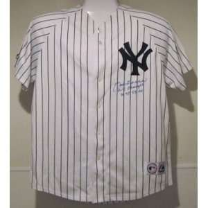 Joe Torre Autographed/Hand Signed New York Yankees Majestic Jersey