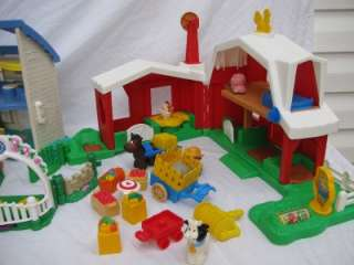 LITTLE PEOPLE DOLLHOUSE DOLL HOUSE SOUNDS FARM BARN ANIMALS & MORE
