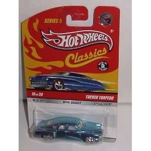 HOT WHEELS CLASSICS SERIES 5 TUCKER TORPEDO 164 CHASE CAR #10 OF 30