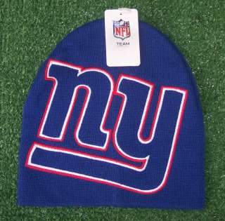 New York Giants NFL Team Apparel Knit hat Beanie cap