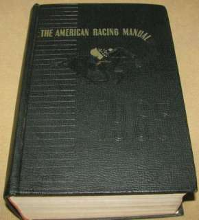 American Racing Manual 1965   Thoroughbred Horse, Racing Form