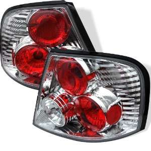 98 01 Nissan Altima Euro Taillights   Chrome Automotive