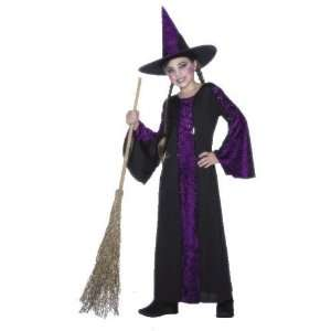 Kids/Girls Witch Halloween Fancy Dress Costume 6 8 Toys & Games