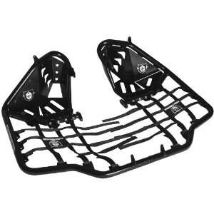 Pro Armor Revolution Nerf Bars with Heel Guard Plate   Black S061078BL