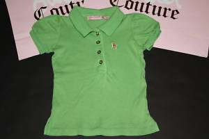 JUICY COUTURE KIDS SHORT SLEEVE TOP SHIRT GIRLS SIZE 7