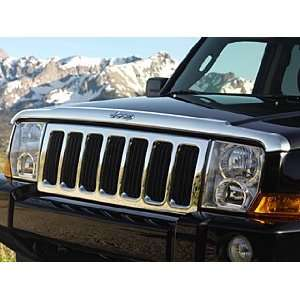 Jeep Commander Chrome Front Air Deflector Automotive