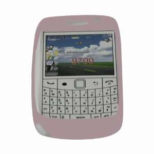 Skque Pink Silicone Skin Case for BlackBerry Bold 9700