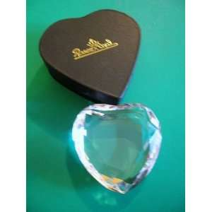 Rosenthal Heart Shaped Crystal