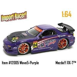 Jada Dub City Import Racer Purple Mazda RX 7 164 Scale