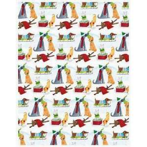 Yappy Holidays Christmas Gift Wrap Paper