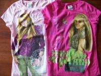 DISNEY Hannah Montana girls size L large t shirts school tops clothes