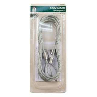Everbilt 8 ft. Garage Door Safety Cable 5020A31