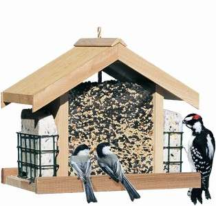 Perky Pet® Deluxe Chalet Wild Bird Feeder Model 50144