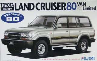 Fujimi ID 79 Toyota Land Cruiser 80 VAN VX 1/24 scale kit