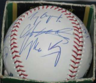 2012 Los Angeles Dodgers TEAM SIGNED MLB Baseball Autographed M Kemp D