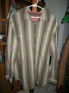 MENS CHAPS DENIM LONG SLEEVE SHIRTS XXL PERFECT SHAPE
