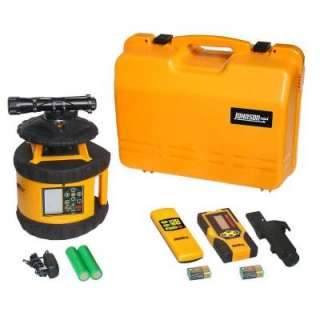 Johnson Electronic Self Leveling Dual Grade Horizontal Rotary Laser