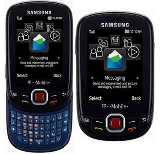 New UNLOCKED Samsung SGH T359 Smiley QWERTY keyboard Black Cellular