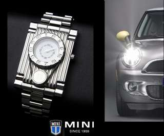 Japanese BMW Mini Cooper Watch MCA401103 White New