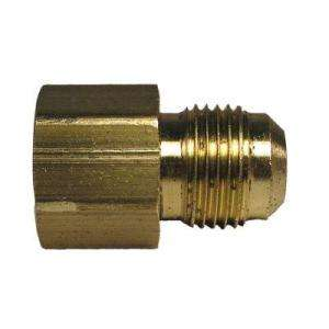 Watts 3/8 In. Brass Flare X FPT Coupling A 176