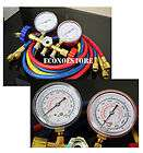 Brass Manifold Gauge Set R12/R134A by Robinair ROB4