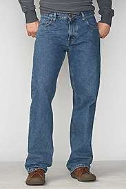 Mens Medium Blue Wash Jeans  Eddie Bauer