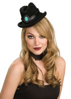 Black Mini Cowboy Hat   Western Costume Accessories
