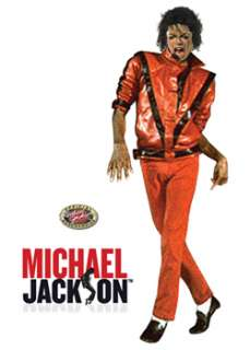 Adult Michael Jackson Thriller Jacket TV Mens Costumes Costume at