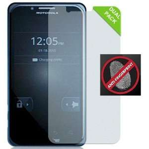 2 ANTI GLARE/FINGERPRINT LCD SCREEN PROTECTOR FOR MOTOROLA