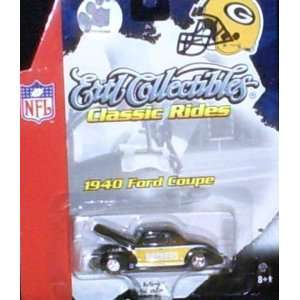 Bay Packers NFL Diecast 40 Ford Coupe Ertl Car Collectibles Classic
