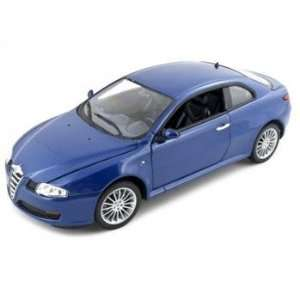 Alfa Romeo Gt Coupe Diecast Car Model 1/18 Blue Toys & Games