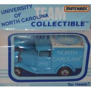 North Carolina Tarheels 1992 NCAA 1/64 Diecast Model A Truck