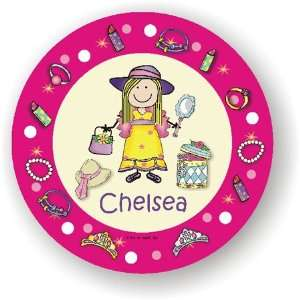 Pen At Hand Stick Figures   Melamine Plates (Dressup)