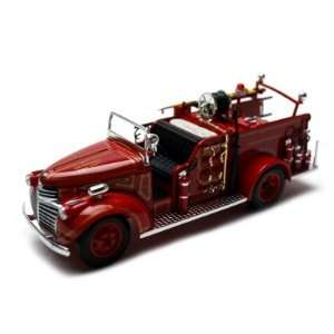 1941 GMC Fire Engine Truck Diecast Model 1/32 Red Toys