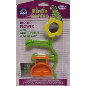 Birdie Flower with Multi Perch and Seed Cup Bird Toy