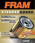 FRAM XG10060 Xtended Guard Oil Filter Automotive