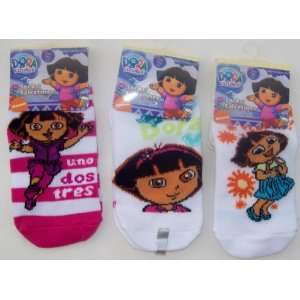 Nickelodeon Girls Hosiery Dora The Explorer Socks Kids