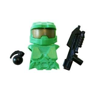HALO Master Chief Kit (Bright Green)   LEGO Compatible