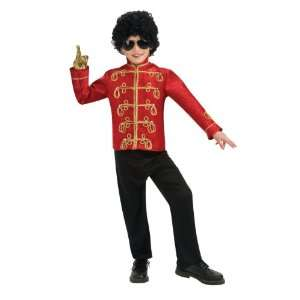 Lets Party By Rubies Costumes Michael Jackson Deluxe Red
