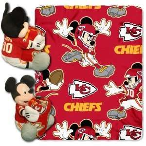 Kansas City Chiefs NFL 038 Mickey Hugger 50x40 Blanket
