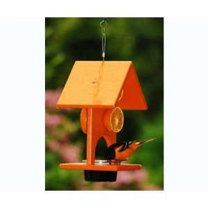 Fruit & Jelly Oriole Bird Feeder   Bright Orange, Recycled
