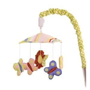 Cotton Tale Designs Spring Fling Mobile, Pink/Blue Baby