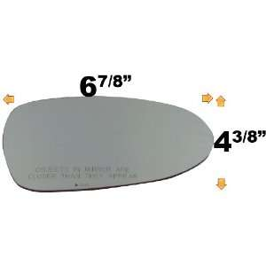 NISSAN DATSUN ALTIMA Convex, Passenger Side Replacement Mirror Glass