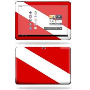 Cover for Samsung Galaxy Tab 8.9 Tablet Skins Scuba Flag Electronics