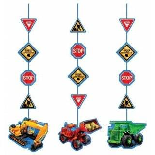 Happy Birthday Dump Truck 33 Mylar Balloon  Toys & Games